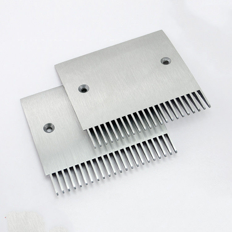 Aluminium Alloy Escalator Comb Plate 22 Tooth Type For Schindler 9500